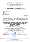 Kosher certificate adhesive batter and GF crumb