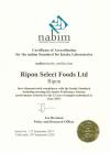 Nabim Certificate