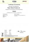 Femas Certificate